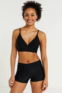 BEACHWAVE hipster bikinibroekje zwart, Zwart