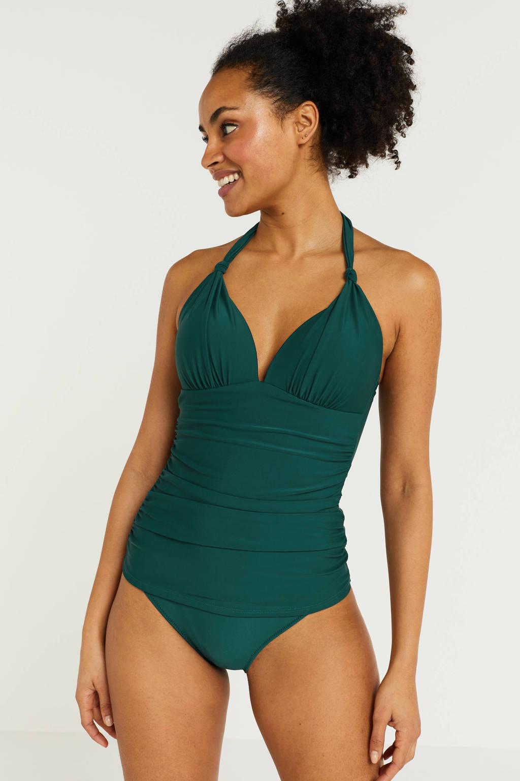 BEACHWAVE tankini bikinitop groen, Groen