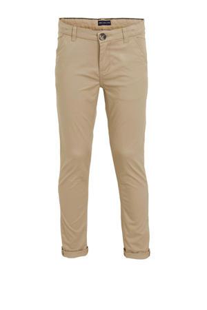 slim fit broek beige