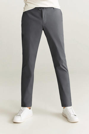 regular fit pantalon grijs