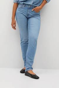Violeta by Mango high waist slim fit jeans blauw, Blauw