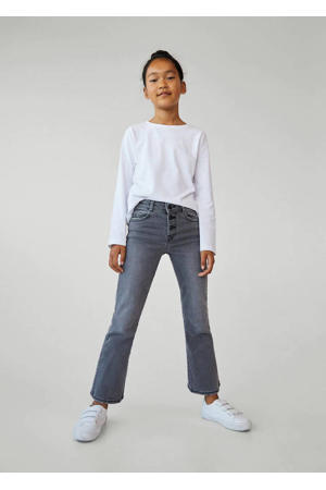 flared jeans grijs