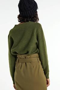 ONLY trui groen, Groen