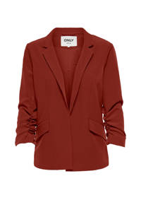 ONLY blazer donkerrood, Donkerrood