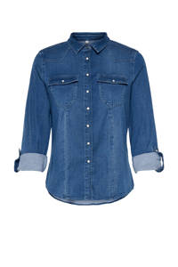 ONLY blouse ONLROCKIT blauw, Blauw