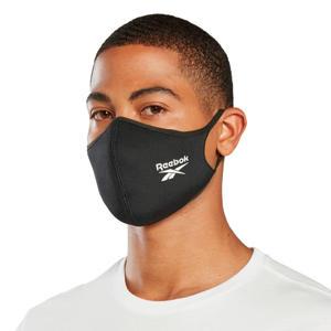 unisex mondkapje - set van 3 zwart