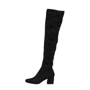 Billie 2  overknee laarzen zwart