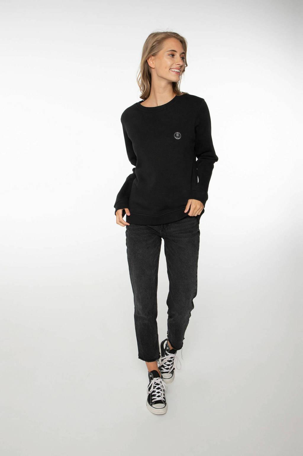 Protest sweater true black, True black