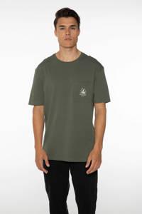 Protest T-shirt Isiah olijfgroen, Thyme