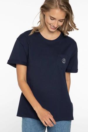 T-shirt ground blue