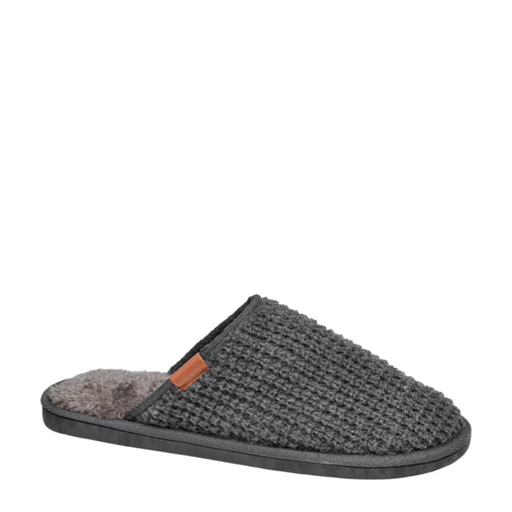 Casa mia pantoffels grijs, Grijs