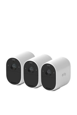 Essential Spotlight beveiligingscamera 3 stuks (wit)