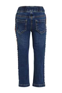 C&A skinny jeans met zijstreep dark denim, Dark denim
