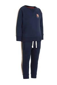 C&A sweater + joggingbroek van biologsch katoen donkerblauw, Donkerblauw