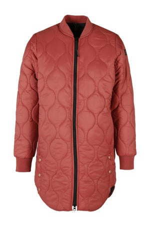 outdoor jas rood