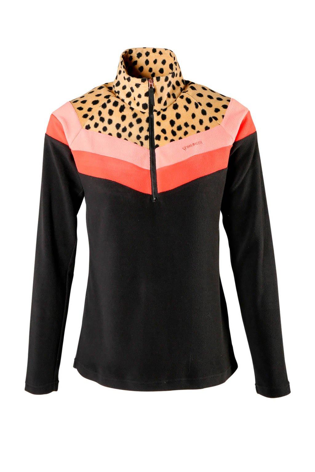 Brunotti skipully beige/roze/zwart, Beige/roze/zwart