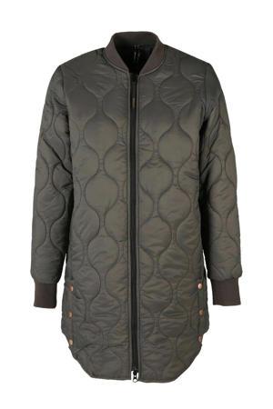 outdoor jas grijs/groen