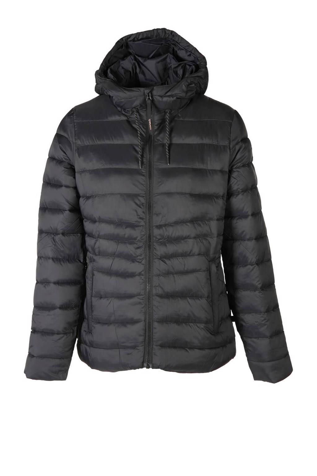 Brunotti gewatteerde jas Maija zwart, Zwart
