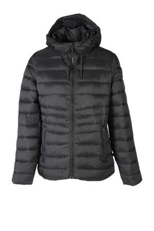 gewatteerde jas Maija zwart