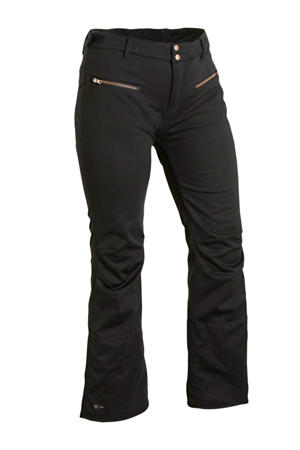 Plus Size softshell skibroek Silverlake zwart