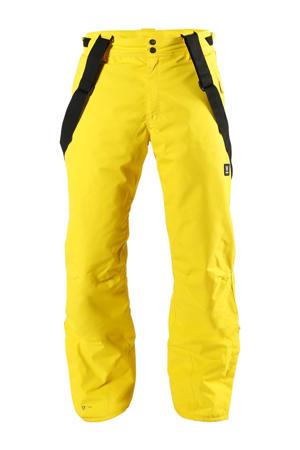 skibroek Footstrap geel