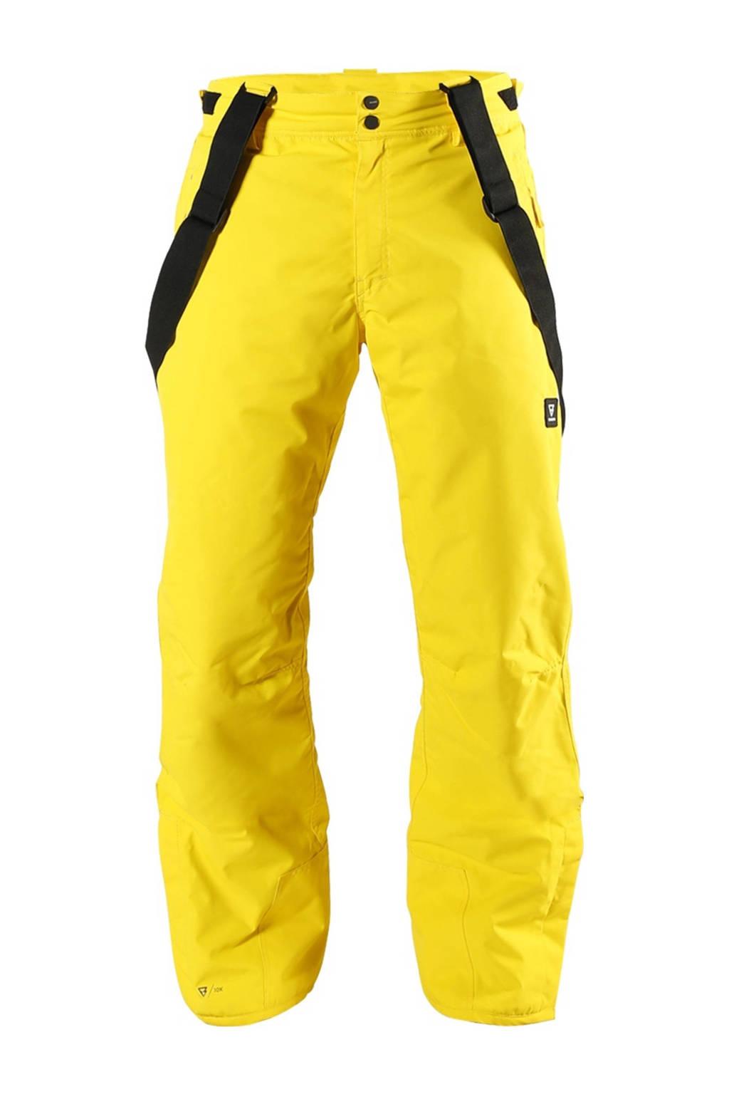 Brunotti skibroek Jiro-S geel, Geel