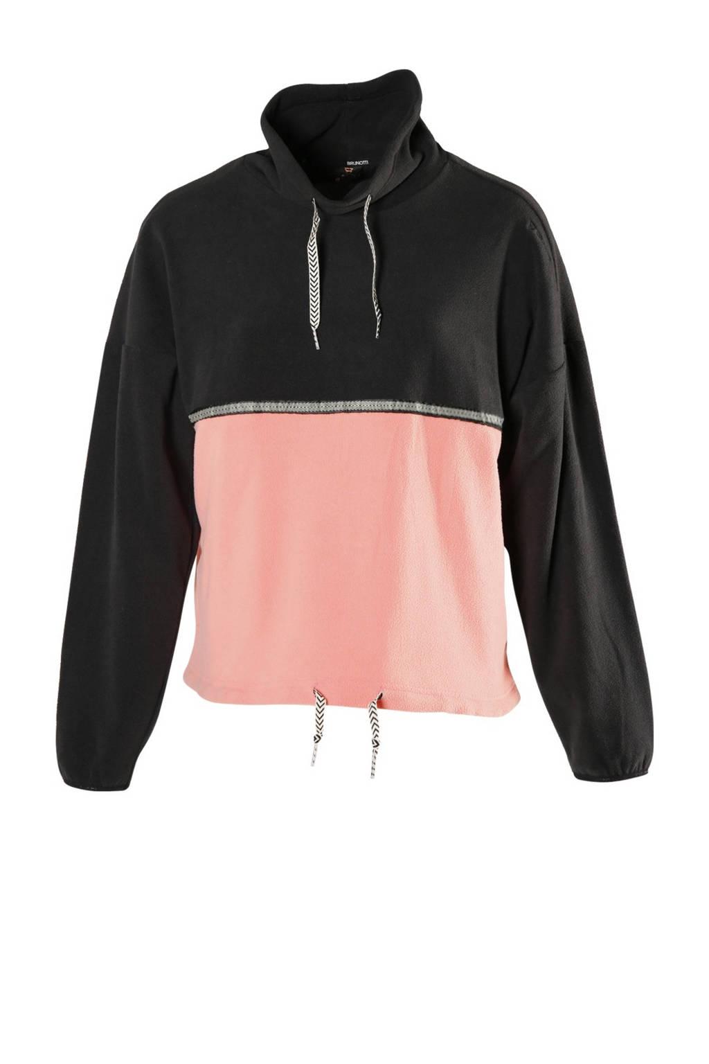 Brunotti skipully Deja zwart/roze, Zwart/roze