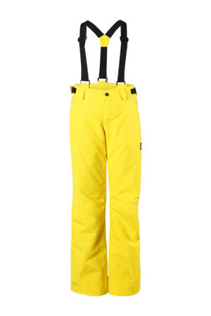 skibroek Footstrap jr geel