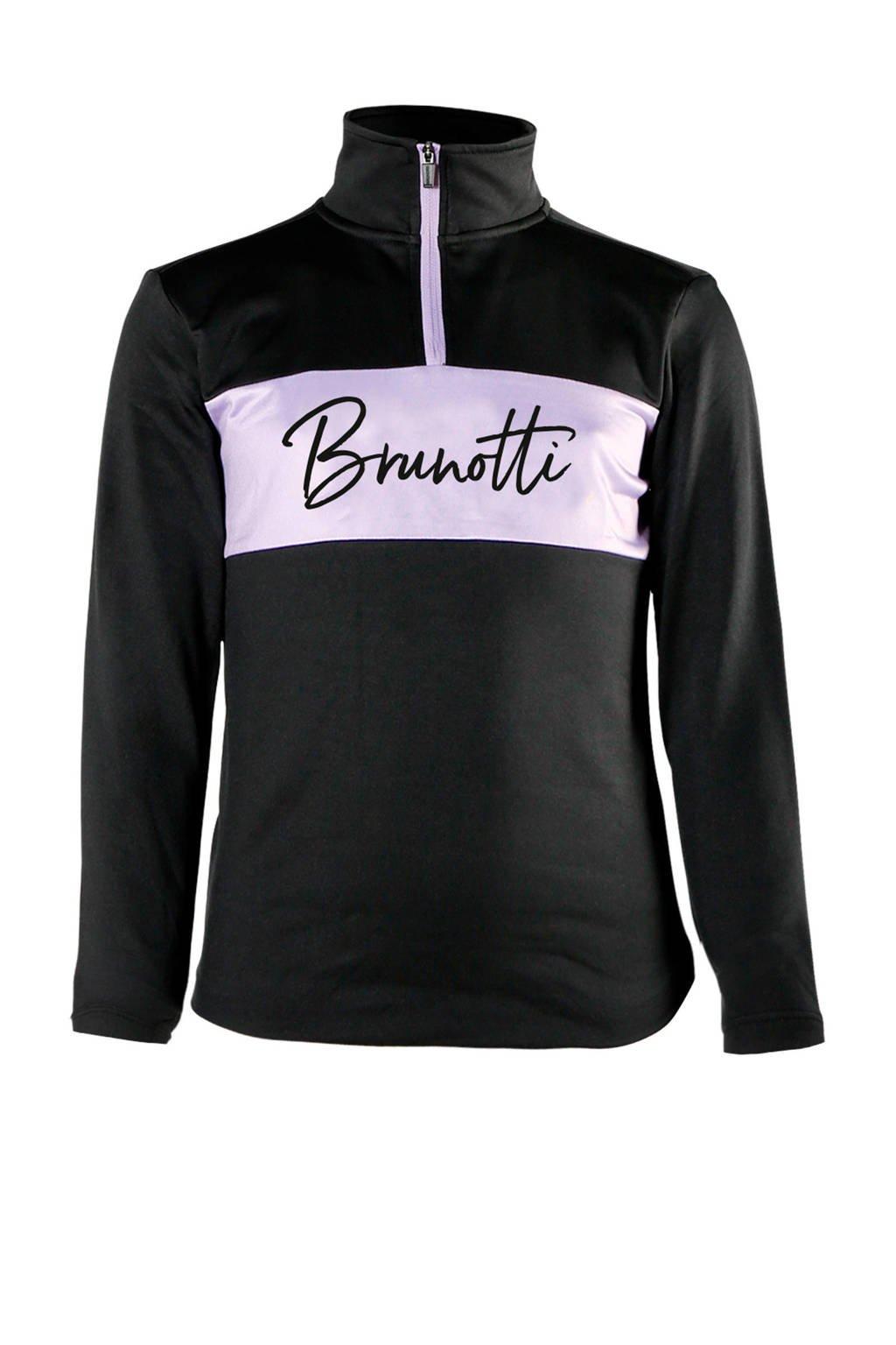Brunotti skipully zwart, Zwart