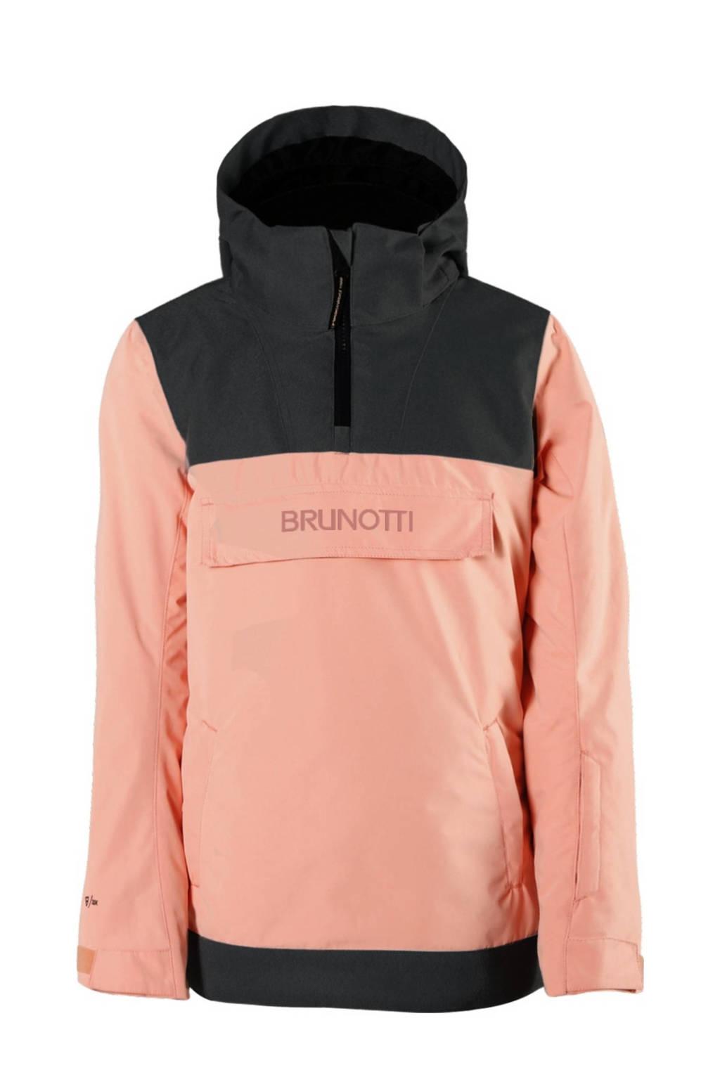 Brunotti anorak Rey jr roze/zwart, Roze/zwart
