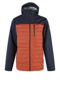 Brunotti softshell jack Vardary oranje/zwart, Oranje/zwart
