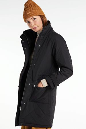 gewatteerde jas Katie zwart