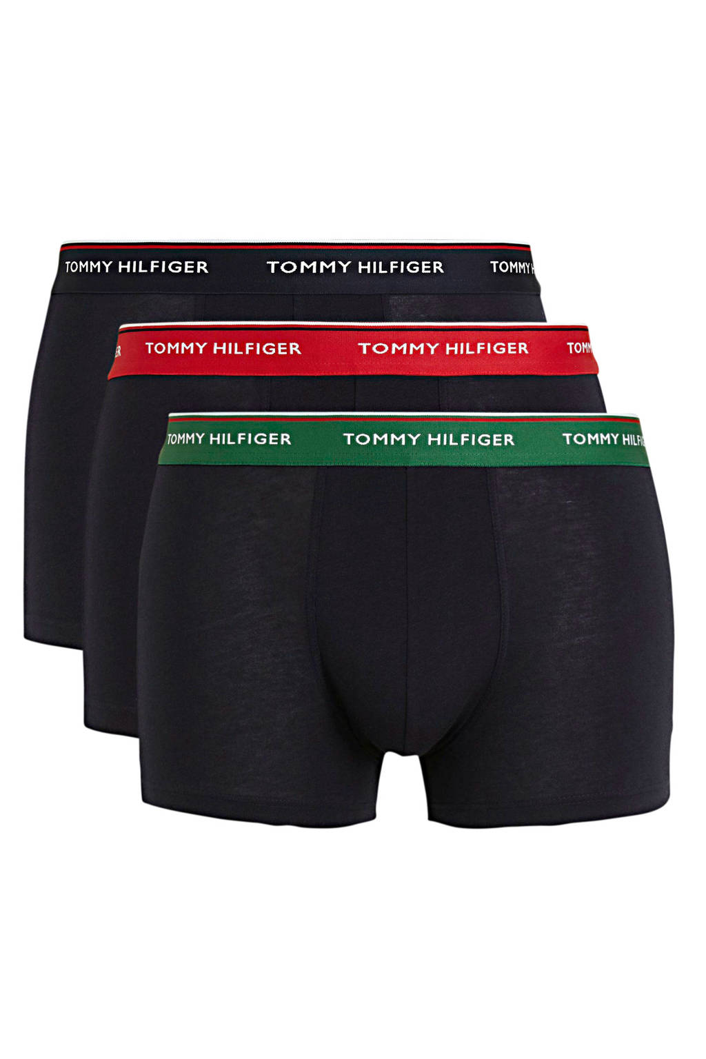 Tommy Hilfiger boxershort (set van 3), Zwart
