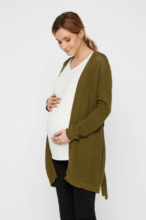 zwangerschaps- en voedingsvest Crystaline donkergroen