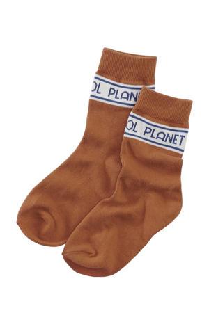 sokken Joeri bruin