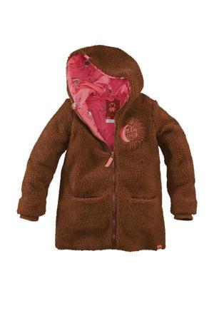 teddy winterjas Morgan  bruin