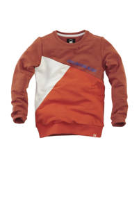 Z8 sweater Hank brique, Brique