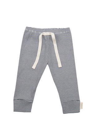 baby gestreepte broek donkerblauw/wit