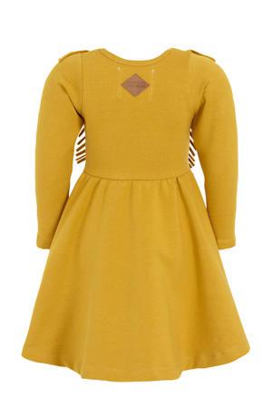 A-lijn jurk met biologisch katoen honing