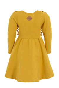 Little Indians baby A-lijn jurk met biologisch katoen honing, Honing