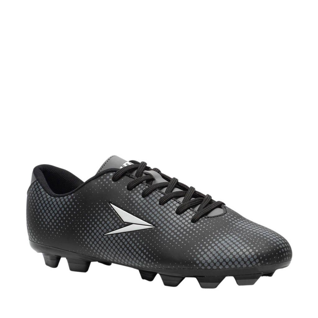 Scapino Dutchy Dott  Sr. voetbalschoenen zwart, Zwart