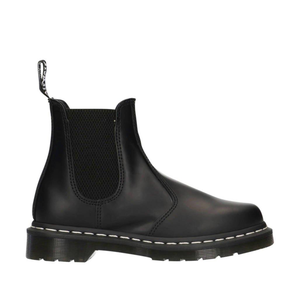 Dr. Martens 2976 Black Smooth leren chelsea boots zwart, Zwart