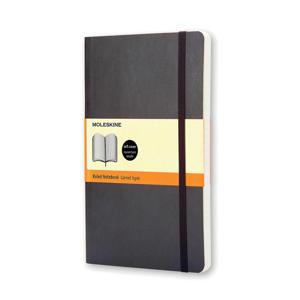 notitieboek Soepel Pocket gelijnd zwart