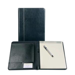 schrijmap + blok Palermo A5 zwart
