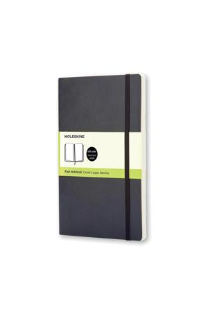 notitieboek Soepel Pocket effen zwart (9 x 14 cm)