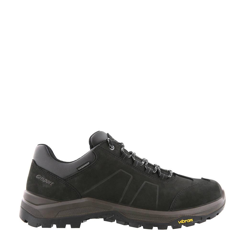 Grisport Utah Low wandelschoenen zwart, Zwart