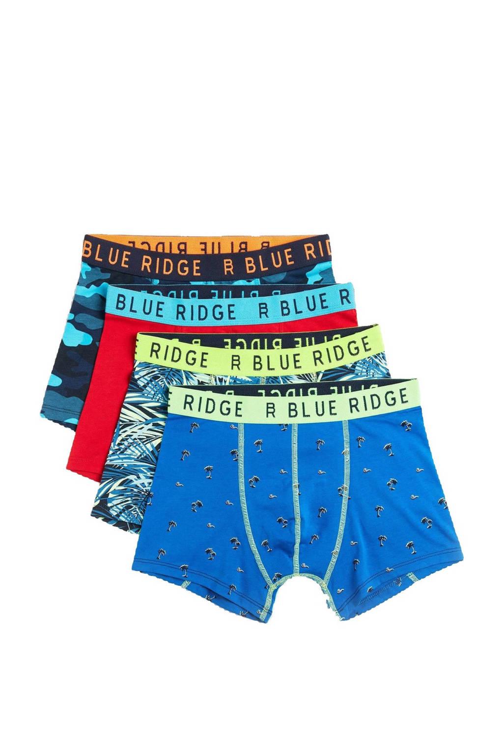 WE Fashion   boxershort - set van 4 multicolor, Multicolor