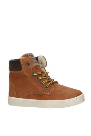 41855  hoge nubuck sneakers bruin