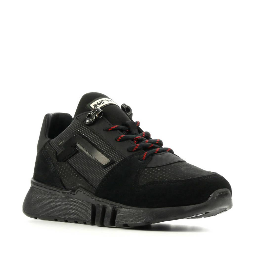Red Rag 13215  sneakers zwart, Zwart