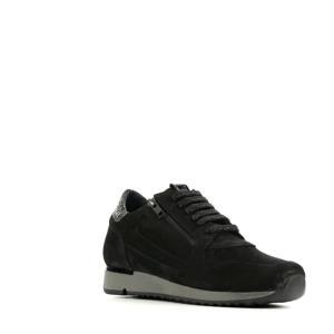 76814   nubuck sneakers zwart